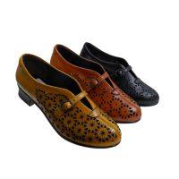 کفش چرم طبیعی مدل n-2034