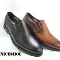 کفش چرم مردانه مدل n-1444