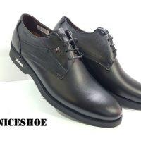 کفش چرم مردانه مدلn-1443