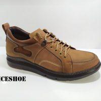 کفش چرم مردانه مدلn-1454
